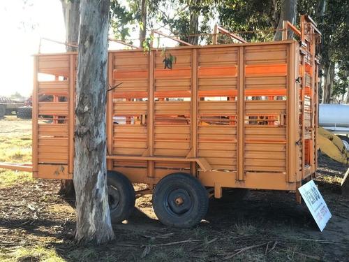 acoplado para transporte de hacienda
