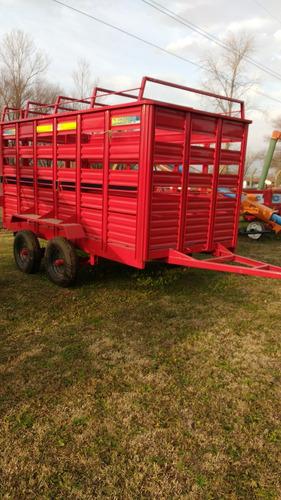 acoplado para transporte de hacienda impagro