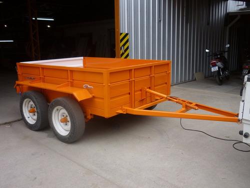 acoplado playo balancin 2.5 x 1.6 carro trailer financiado