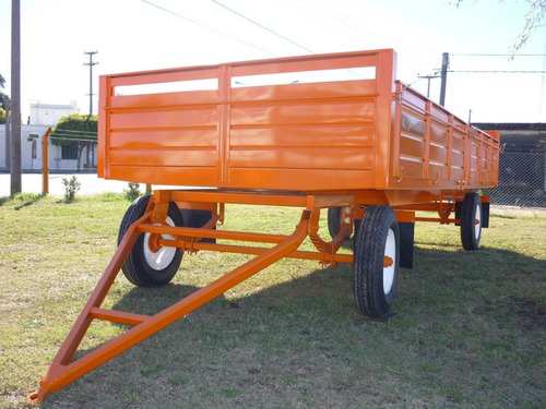 acoplado playo carga 5 x 2.10 carro trailer financiado