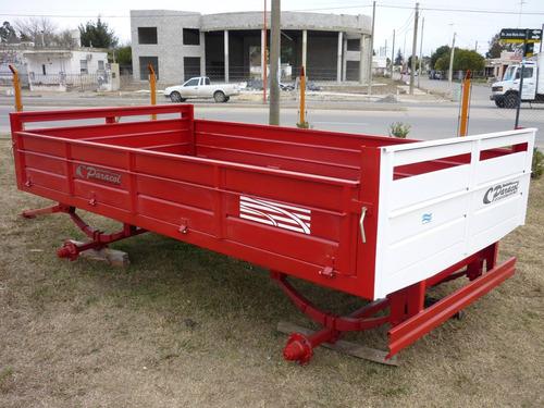 acoplado playo carga batan carro trailer financiado