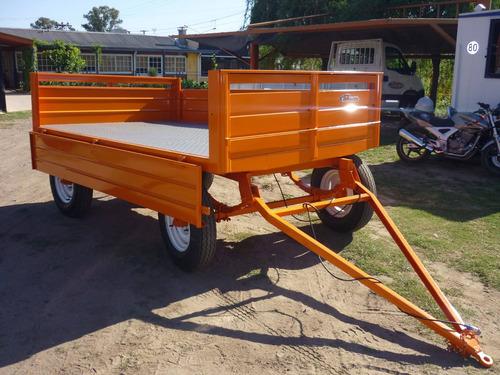 acoplado playo carga iva incluido vantren trailer cheques
