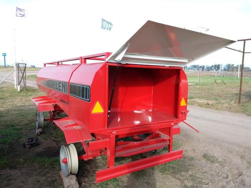 acoplado tanque cisterna c/ baulera trasera 3000 litros
