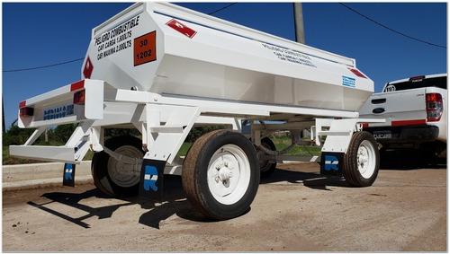 acoplado tanque cisterna homologado 2.000 lts. (ci1003)