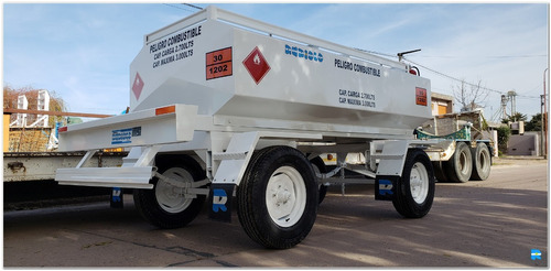 acoplado tanque cisterna homologado 3.000 lts. (ci1004)
