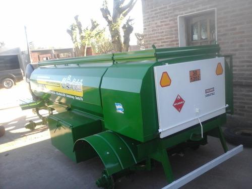 acoplado tanque combinado 5000 litros