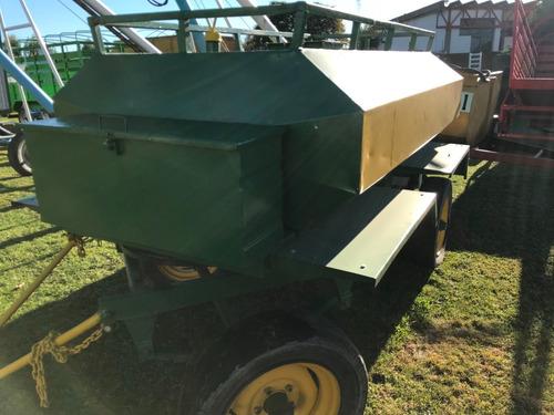 acoplado tanque de combustible de 2200 lts