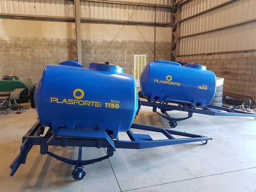 acoplado tanque mod. 1500. tanque plástico. plasforte srl.