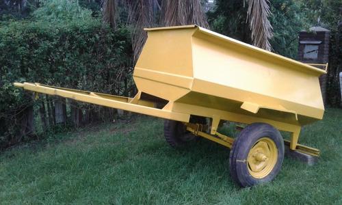acoplado tanque para combustible 1500 litros