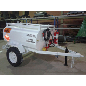 Acoplado Tanque Proveedor De Combustible 1500 Lts Homologado