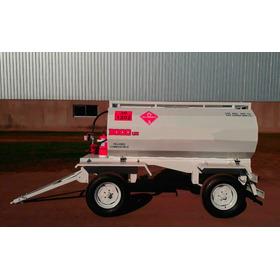 Acoplado Tanque Proveedor De Combustible Homologado 3000 Lts