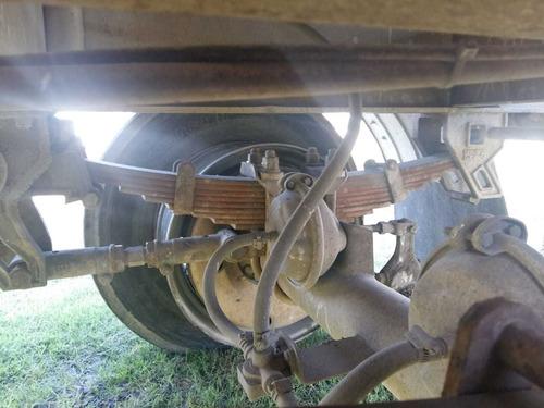 acoplado tolva para descarga de cemento - viga salto 95