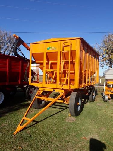 acoplado tolva para semilla y fertilizante 14 toneladas