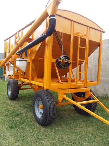 acoplado tolva para semilla y fertilizante de 14 toneladas