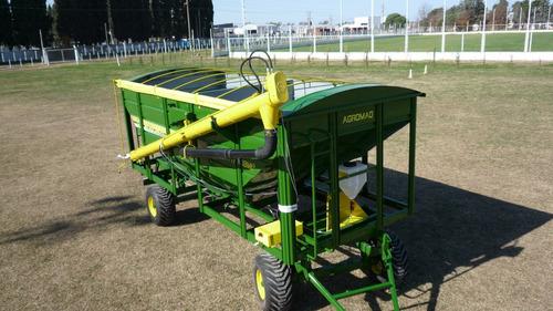 acoplado tolva para semillas y fertilizantes 16tt. de trigo
