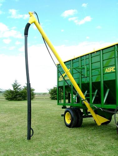 acoplado tolva para semillas y fertilizantes 24tt. de trigo