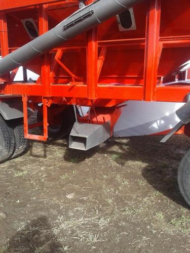 acoplado tolva semillero / fertilizante 20 tn