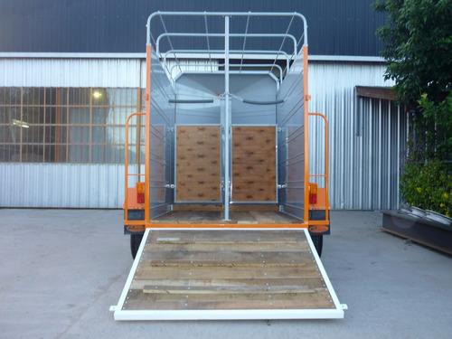 acoplado trailer 2 caballos iva incluido carro cerrado