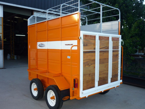 acoplado trailer 2 caballos iva incluido con cheques