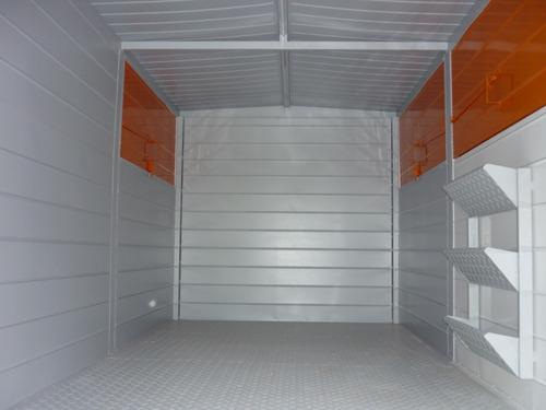 acoplado trailer cerrado taller rodante obrador movil 4tn