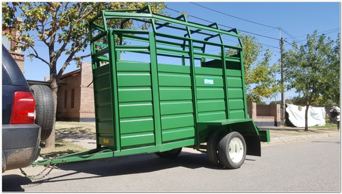 acoplado trailer jaula para 1 caballo (ja1008)