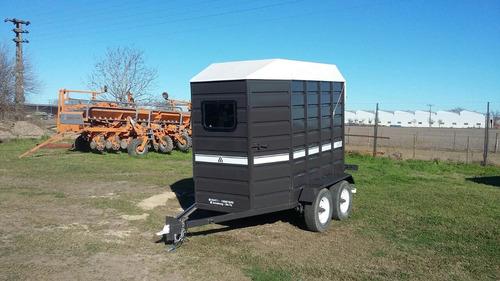 acoplado trailer para 2 caballos 0 km