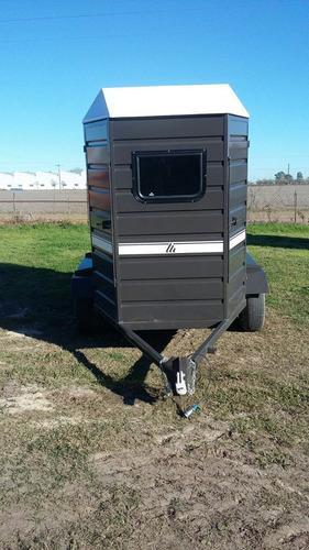 acoplado trailer para 2 caballos - 0 km