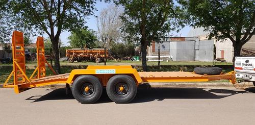 acoplado trailer para 4 tn. de 5 mts. de largo (tr1005)
