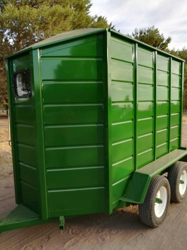 acoplado trailer para caballos