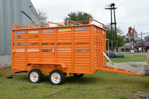 acoplado transporte hacienda de 5 a 6 animales