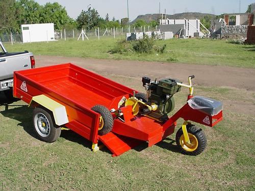 acoplado vehicular 1 eje roland h700 basico