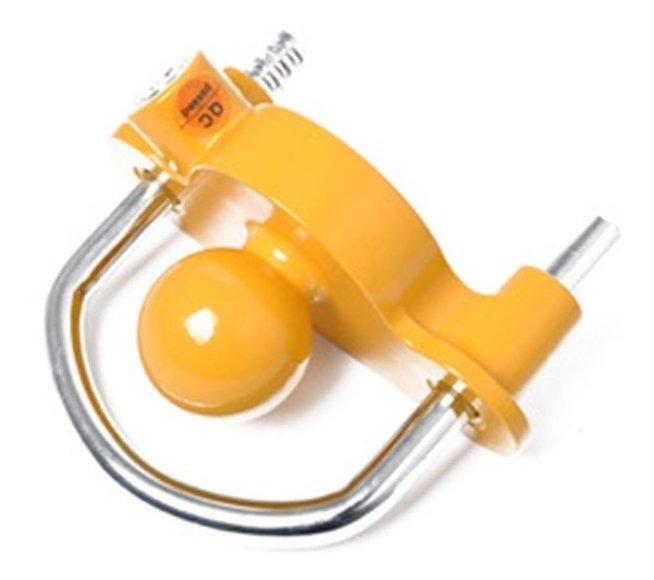 Acoplador de remolque universal antirrobo con barra gruesa y bloqueo de seguridad anticorrosi/ón Ajboy