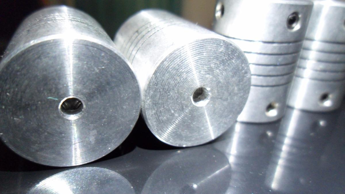 Acoplador Flexible Aluminio 3 A 3mm Cnc Reprap 70 00