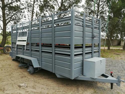acoplados carros jaula 2x4x1.80 tipo vaquero