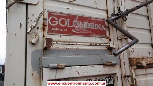 acoplados golondrina 9.40 con destape sin cubiertas francorm