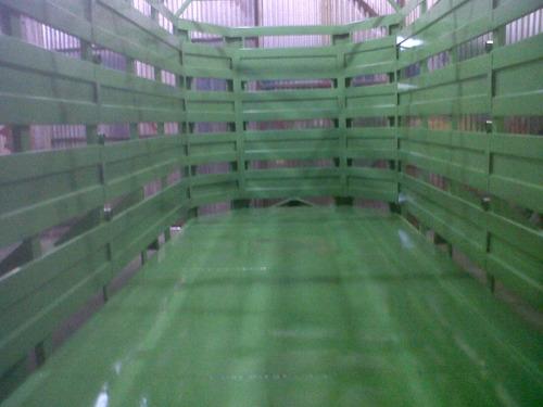 acoplados jaula rural tecnoforraje de 5, 6 y 7 m