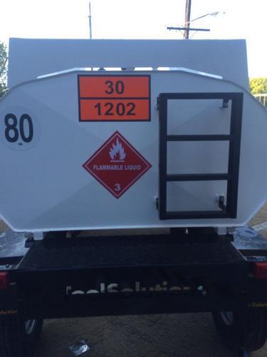 acoplados tanque para transporte de combustible homologado