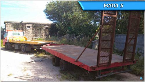 acoplados trailer usados - varios modelos - homologados lcm