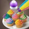 acople cupla pico manga repostería tota cupcakes. 3 colores!