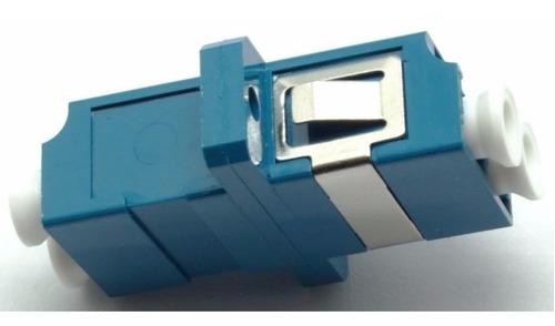 acople lc duplex fibra optica