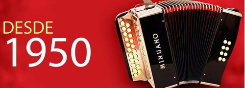 acordeon 120 baixos minuano super 6 120/41 preto