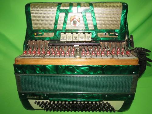 acordeon 120 baixos todeschini artist 4 selo verde relíquia