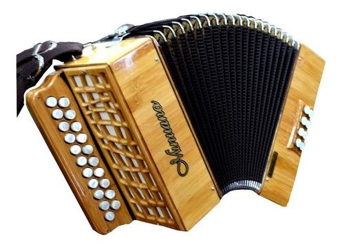 acordeon 8 baixos 21 botões 8/21 bamboo sanfona gaita botão