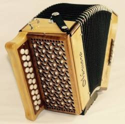 acordeon 8 baixos edilberto bérgamo natural minuano + bag