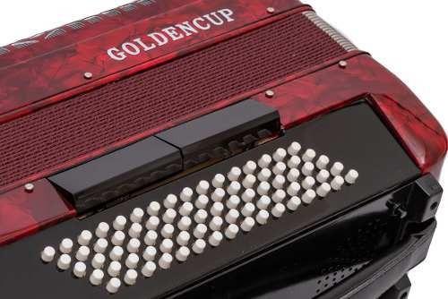 acordeon 80 bajos 7+2 registros golden cup cod.jh2006