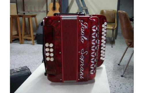 acordeon a botones paolo soprani