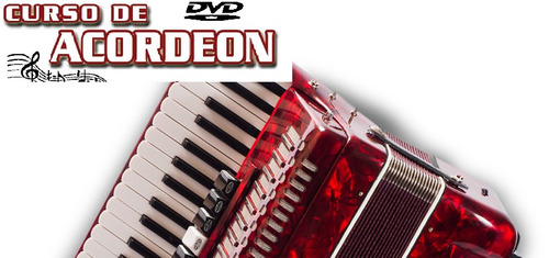 acordeon aulas!! curso de acordeon em 4 dvds!