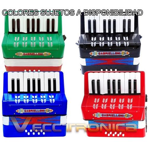 acordeon fabuloso profesional con botones y teclas toca  wow