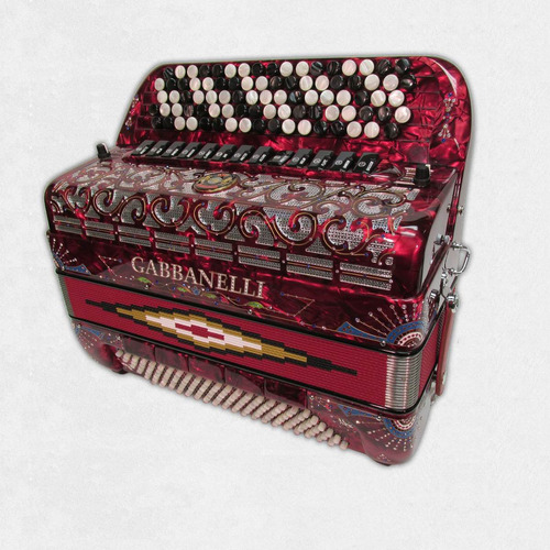 acordeon gabbanelli  teclas mod latino