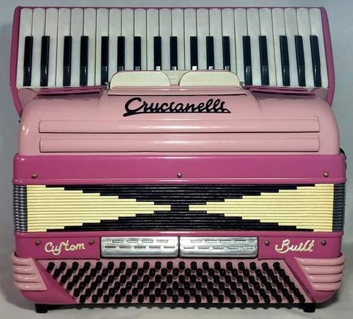 acordeon gaita crucianelli 120 baixos sanfona italiana